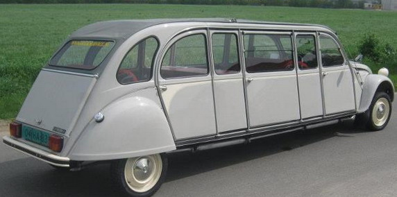 2cv limousine le site r f rence sur la 2cv. Black Bedroom Furniture Sets. Home Design Ideas