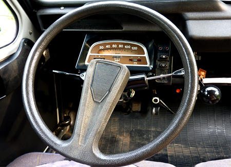 2cv charleston interieur