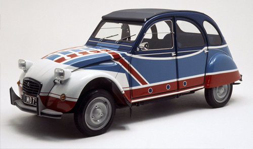 citroen 2cv basket